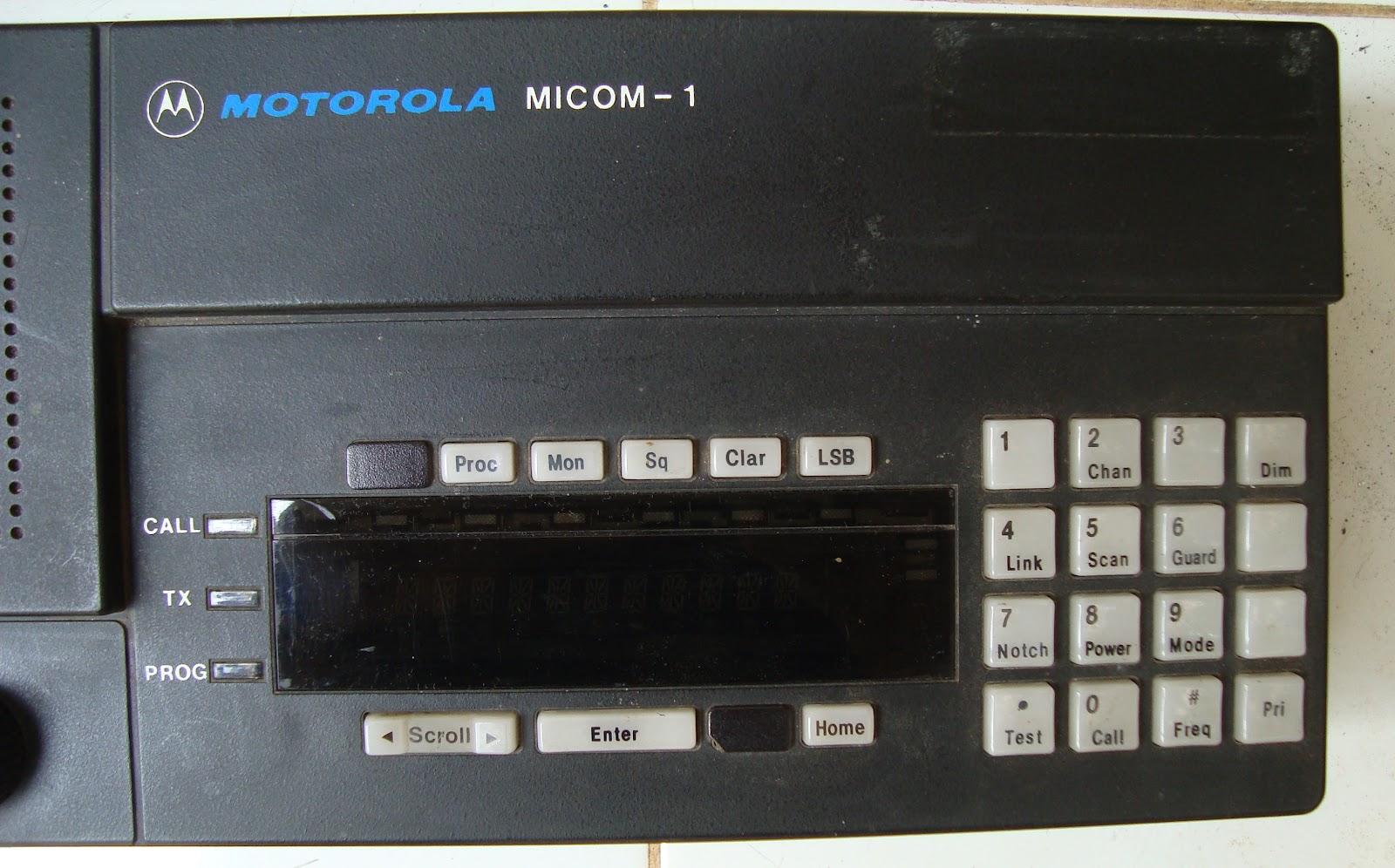 Motorola micom 2 manual