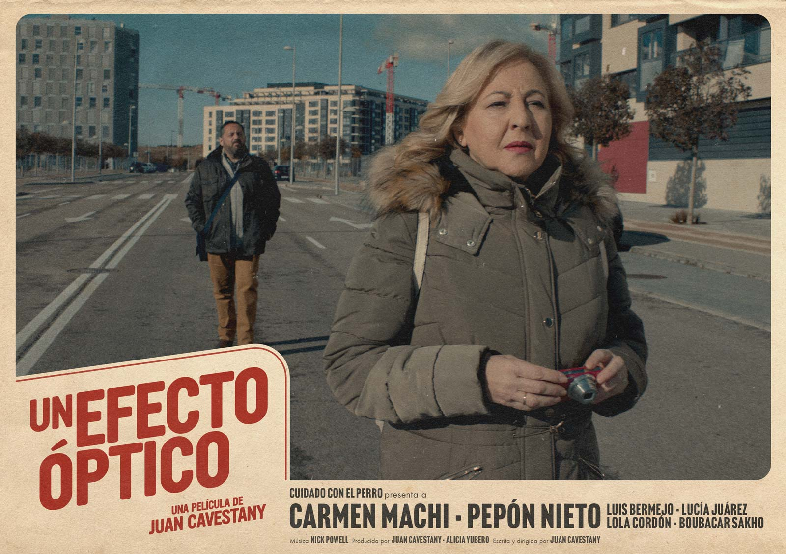 UN EFECTO ÓPTICO de JUAN CAVESTANY con Carmen Machi y Pepón Nieto