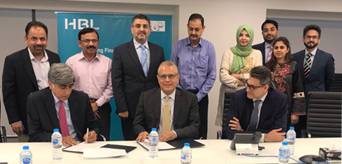 HBL and Muller & Phipps sign MOU to promote financial inclusion