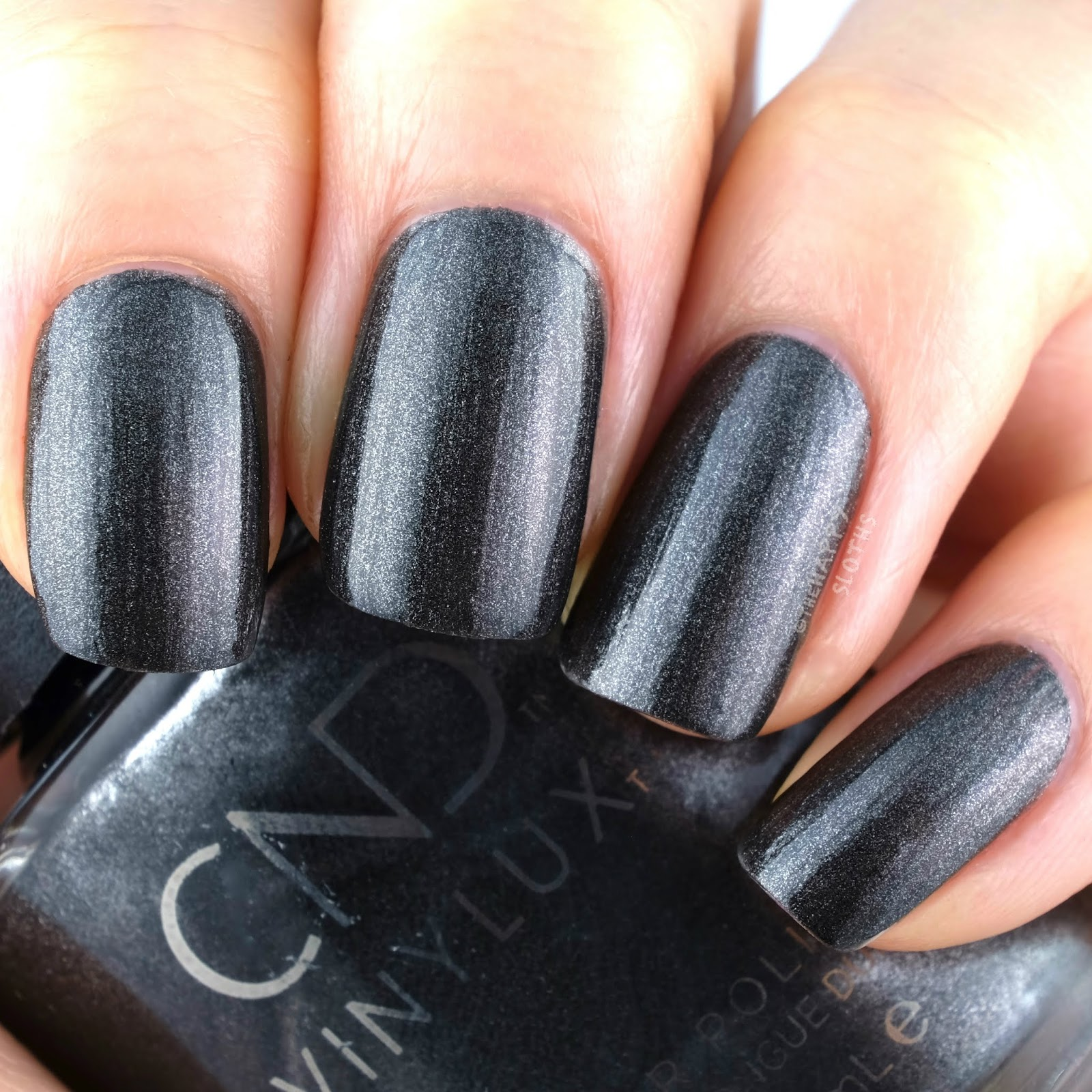 CND | Holiday 2019 Crystal Alchemy Collection | Powerful Hematite: Review and Swatches