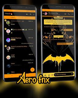 Batman Theme For YOWhatsApp & Fouad WhatsApp By Ave fénix