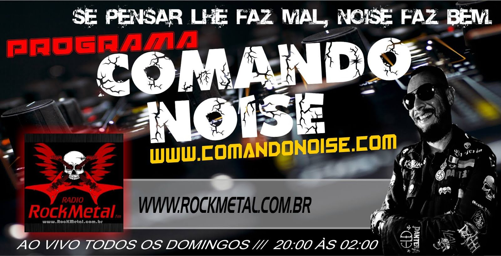 COMANDO NOISE NA WEB RÁDIO ROCK METAL
