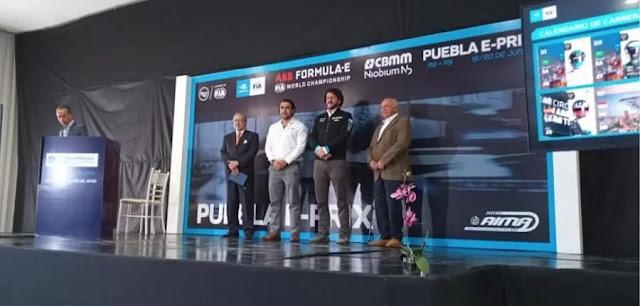 Presentación Puebla e-Prix