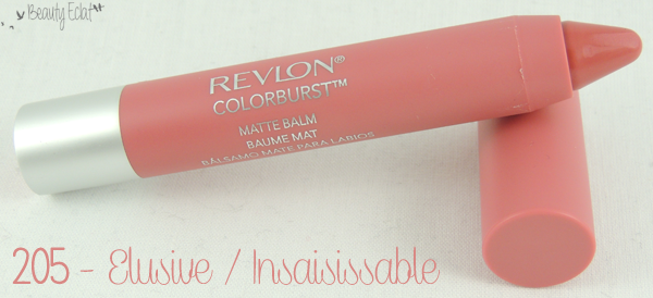 revue avis test colorburst revlon elusive insaisissable swatch