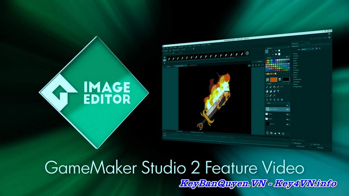 Download và cài đặt GameMaker Studio Ultimate 2.2.3.436 Full Key, Phần mềm tạo trò chơi cực đã .