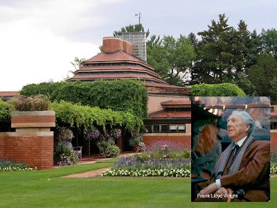 Frank Lloyd Wright y Wingspread House