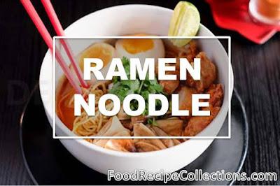 Remen Noodle Recipe