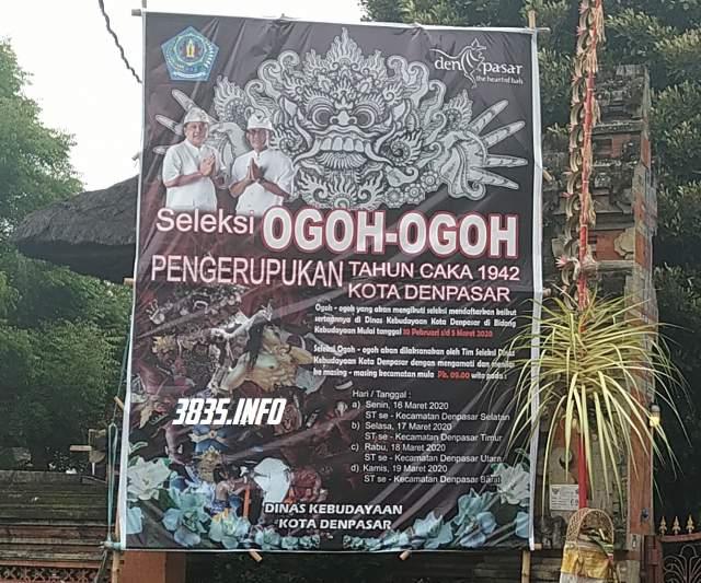 Lomba Ogoh-ogoh Denpasar Bali