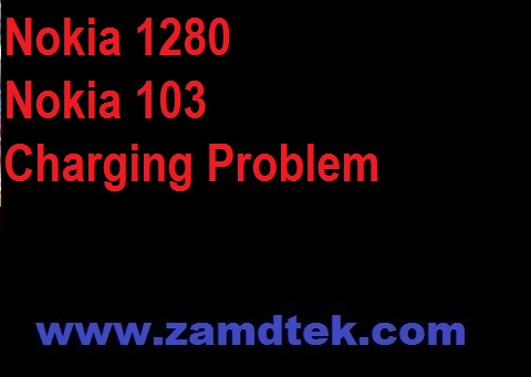How to repair Nokia 1280 and Nokia 103 Charging problem 100% solution