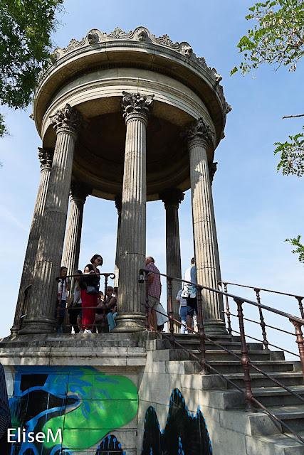 Temple de la Sibylle des Buttes Chaumont