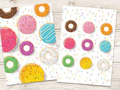 Mama Love Print Printable -  甜甜圈早教掛牆圖 Donut Poster Free Download Freebies Printable