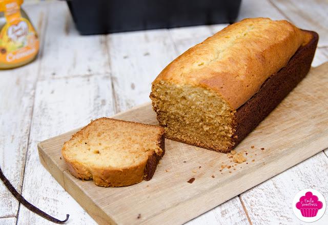 Cake vanillé au miel