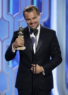Leo DiCaprio 2016 Oscars