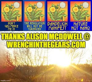 click on pic - Alison McDowell Dandelion Art