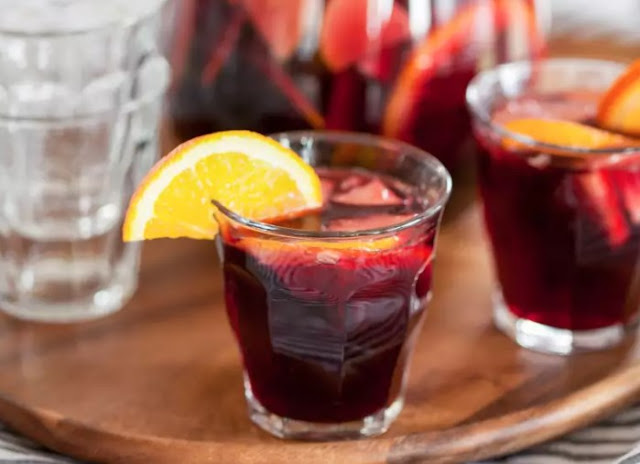 Best Red Wine Sangria #drinks #cocktails