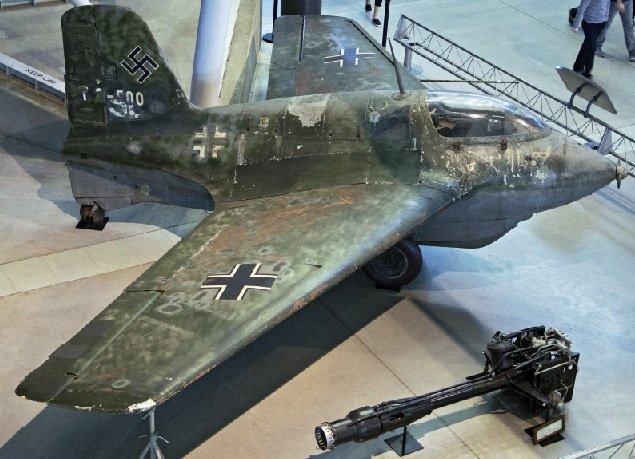 A 163b exposed in the United States National Museum