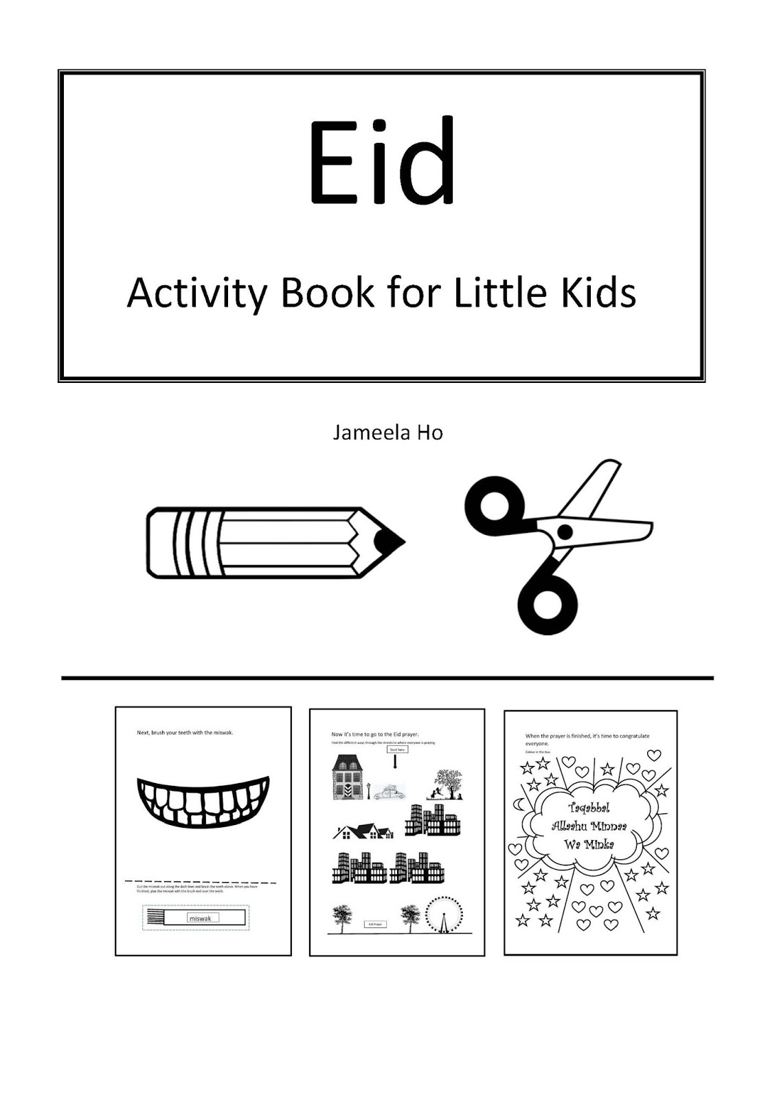 Ilma Education Free Download Eid Activity Book For