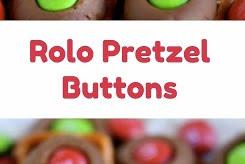 Rolo Pretzel Buttons
