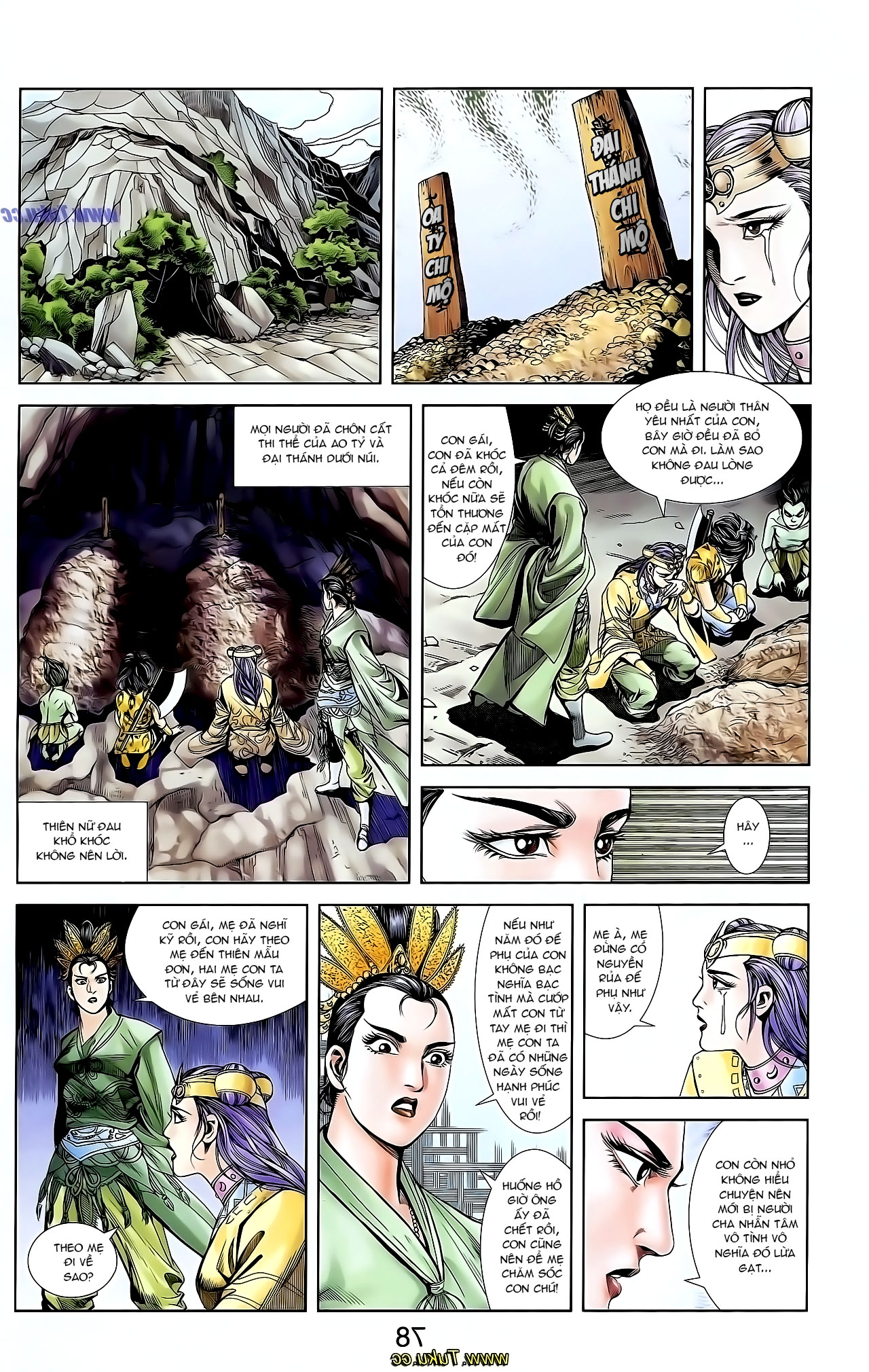 Cơ Phát Khai Chu Bản chapter 128 trang 9