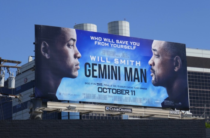 Gemini Man film billboard