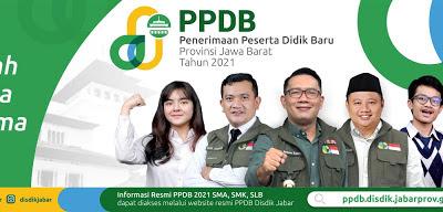 Dinas Pendidikan Jabar Umumkan Hasil PPDB 2021-2022 Tahap 2