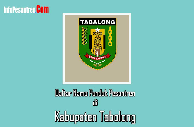 Pondok Pesantren di Kabupaten Tabolong