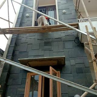 Aneka Jenis Batu Alam Andesit untuk Dinding Rumah
