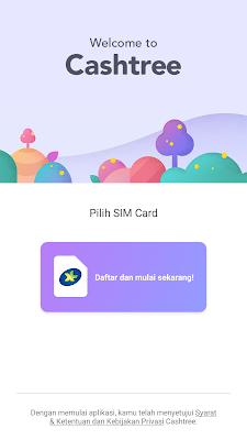 cara daftar di aplikasi cashtree hp smartphone gratis