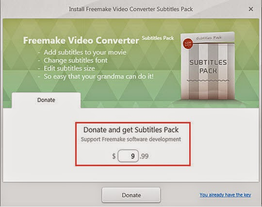 freemake video converter subtitles pack key free download