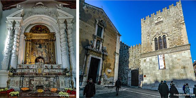 Igreja de Santa Catarina, Taormina, Sicília