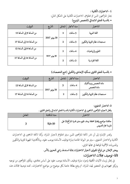 جهة طنجة تطوان الحسيمة...إعلان مباراة التوظيف بالتعاقد