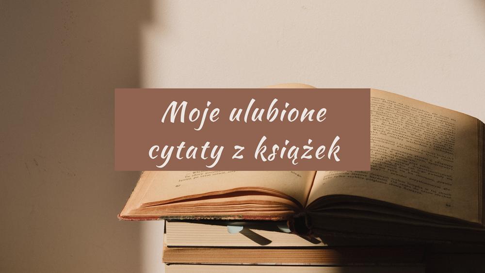 cytaty z książek