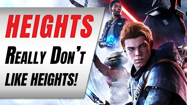 Star Wars Jedi: Fallen Order Review / Impressions (Really Don't Like Heights!)