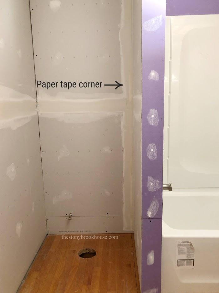 Paper Tape Corner