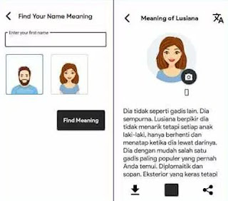 Cara Mengubah Bahasa di Aplikasi Fact of Your Name