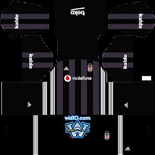 Beşiktaş 2019 yeni sezon Dream League Soccer fts 19 forma logo url,dream league soccer kits, kit dream league soccer 2018 2019