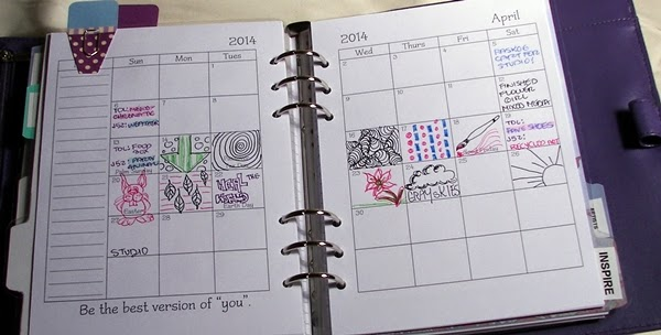 Art Planner Plan Section Calendar