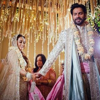 वरुण धवन और नताशा दलाल की शादी की पहली फोटो आई सामने