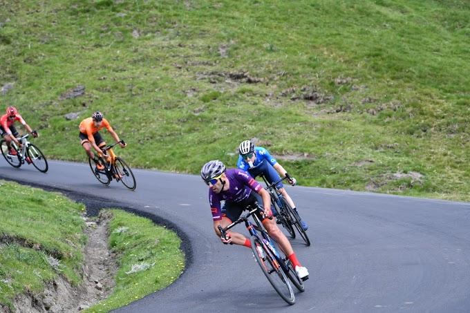 Dani Navarro se lució en la etapa reina de Occitanie
