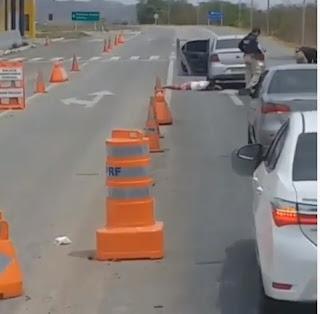 Homens que assaltaram loja em Barra de Santa Rosa são presos; veja vídeos
