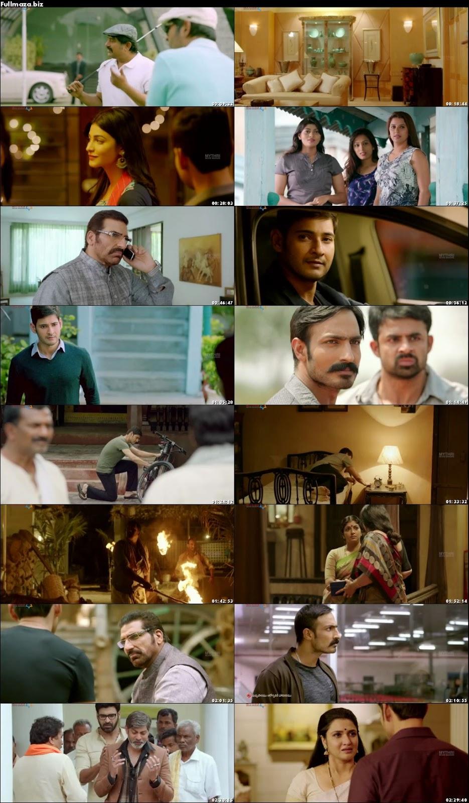 Srimanthudu (2015) Hindi Multi Audio Uncut HDRip   720p