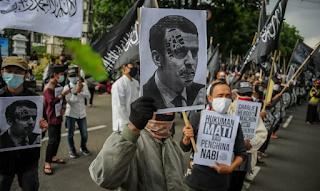 Macron Kepada Muslim: Saya Paham Anda Marah
