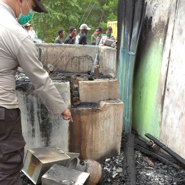Empat Unit Ruko di Muara Batu Ludes Dilalap Api