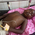 Kaduna hospital in search of family of little boy whose mother died in an accident  (Graphic Photos)