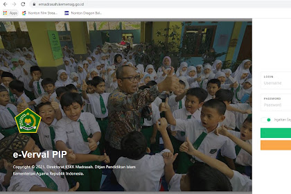 https://emadrasah.kemenag.go.id/verval/login Aplikasi Verval PIP Madrasah