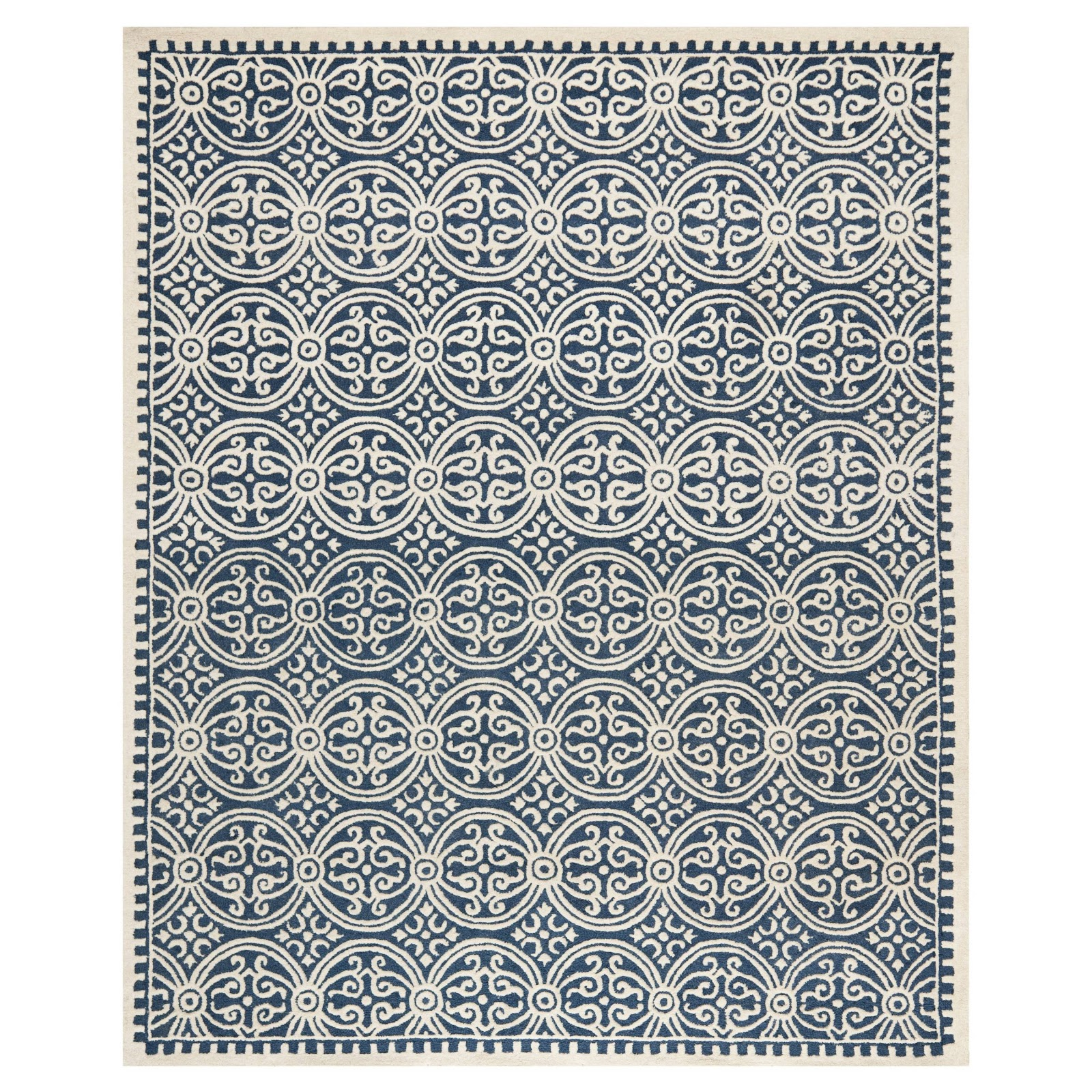 Real Inspired 10 Perfect Blue Farmhouse Rugs
