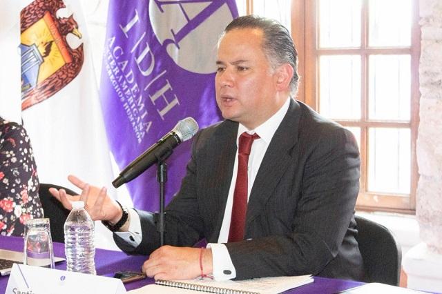 Continúa investigación de cuentas de Medina Mora