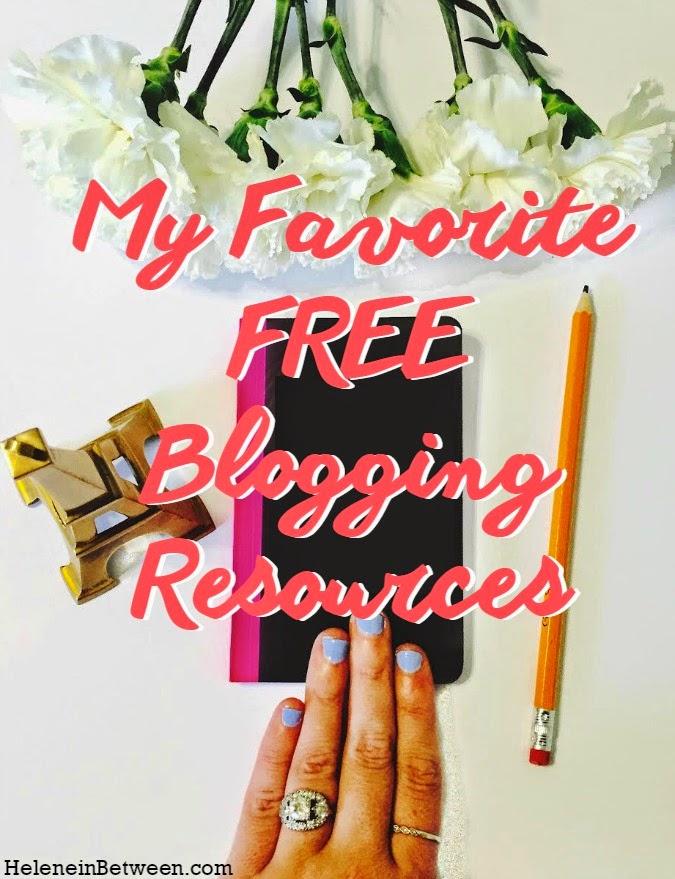 My Favorite Free Blogging Resources
