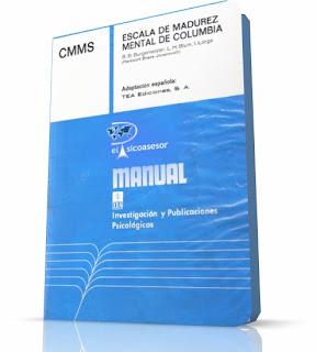 psicologia-escala-test-Escala de Madurez Mental de Columbia- CMMS