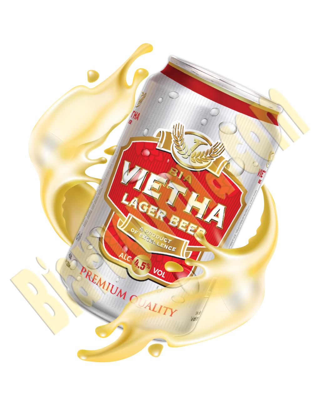 Thùng bia 24 lon Việt Hà